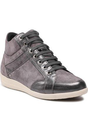 Geox Femme Baskets - Sneakers - D Myria G D0468G 022Y2 C9002 Dk Grey