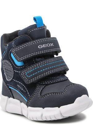 Geox Garçon Bottes de neige - Bottes de neige - B Flexyper B.B Abx A B163PA 03222 C4231 M Navy/Sky
