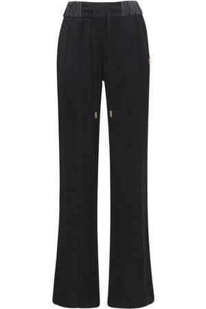 Dolce & Gabbana Pantalon Ample En Satin De Viscose