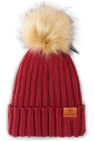 Ariat Femme Bonnets - Women's Cotswold Beanie Hat in Rhubarb