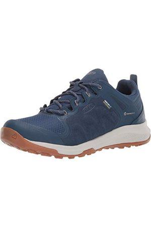 Keen Explore Waterproof, Chaussure de randonnée Femme, Majolica Blue/Satellite, 39 1/3 EU