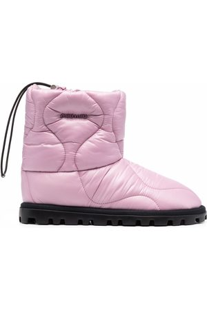 Miu Miu Quilted ankle-length boots