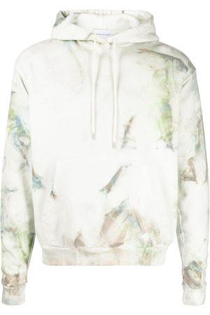 JOHN ELLIOTT Tie-dye cotton hoodie