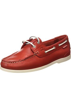 Chatham Willow, Chaussures Bateau Femme, (Red 001), 40 EU
