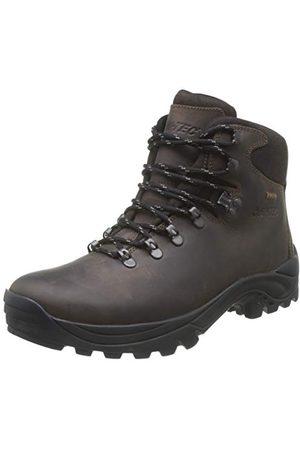 Hi-Tec Ravine WP Womens, Chaussures de Randonnée Hautes Femme, (Brown), 38 EU