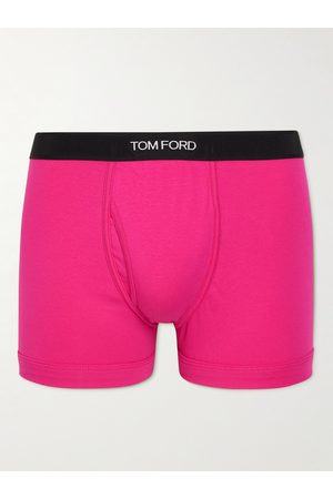 TOM FORD Homme Boxers - Stretch-Cotton Boxer Briefs