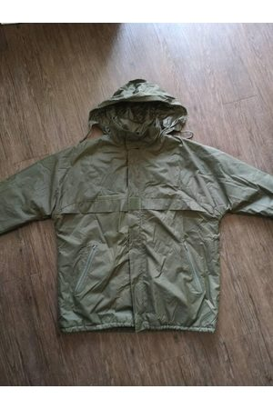 AnciennementModern Homme Manteaux longs - Circa 90S French Army Airborne Waterproof Parka/Vintage Classic Militaria