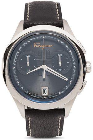 Salvatore Ferragamo Watches Homme Montres - Montre Gancini 42 mm à quartz
