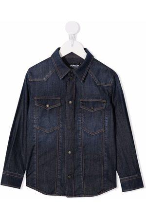 Dondup Garçon En jean - Button-up denim shirt