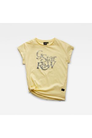 G-Star RAW Fille T-shirts - T-shirt Knotted