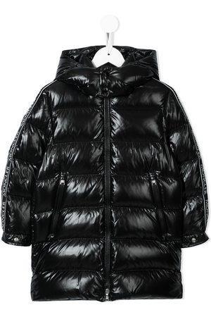 Moncler Enfant Hooded padded coat