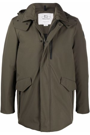 Woolrich Hooded mid-length coat