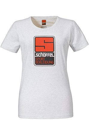 Schöffel Originals Kitimat T-Shirt Femme Cloud Dancer FR: M (Taille Fabricant: 38)