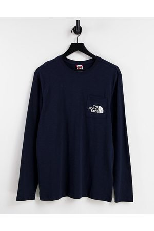 The North Face Tisack - T-shirt à manches longues - marine