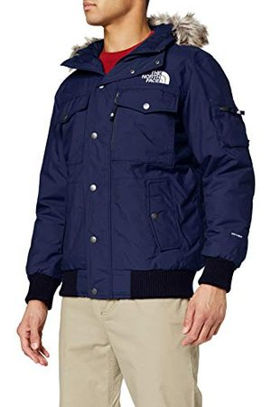 The North Face M Gotham Jacket Insulated Down Homme, Montague Blue, FR (Taille Fabricant : XS)