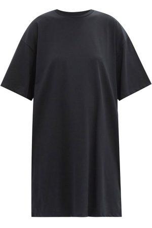 Raey Femme Robes - Robe T-shirt longueur genou en fibres recyclées