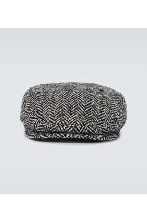 Dolce & Gabbana Chapeau en laine mélangée à chevrons