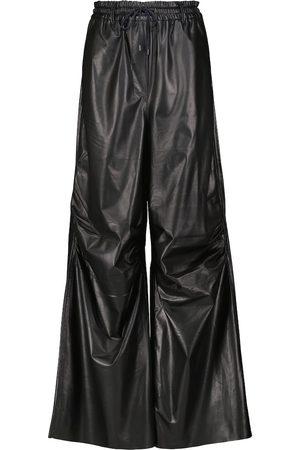 PETAR PETROV Pantalon de survêtement ample Gines en cuir