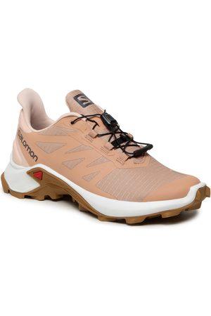 Salomon Chaussures - Supercross 3 W 414533 21 V0 Sirocco/White/Cumin