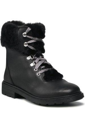 Clarks Bottes de randonnée - Astrol Hiker K 261616776 Black Leather