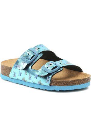 Scholl Mules / sandales de bain - Air Bag Kid F29640 1063 270 Turquoise