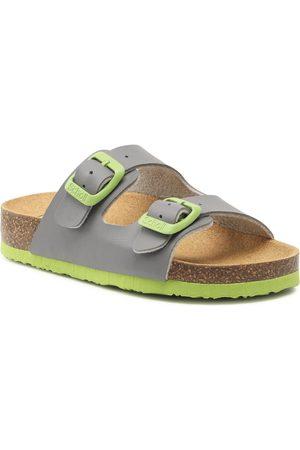 Scholl Mules / sandales de bain - Air Bag Kid F29641 1104 270 Grey/Green
