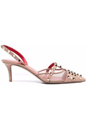 Valentino Garavani Rockstud-embellished pointed-toe pumps