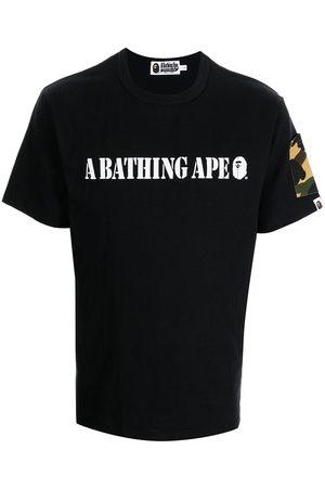 A BATHING APE® Logo-print cotton T-shirt