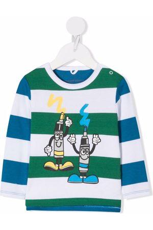Stella McCartney Kids Cartoon-print long-sleeved T-shirt