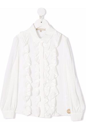 ELIE SAAB JUNIOR Ruffle-design blouse