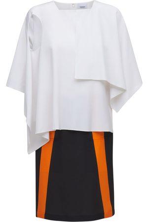 Burberry Femme Robes midi - Robe Mi-longue En Jersey De Soie