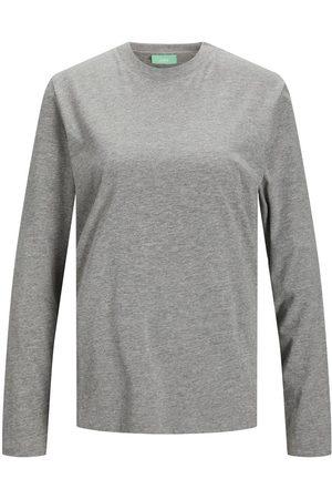jack & jones Homme Manches longues - Jxagnes T-shirt À Manches Longues Women grey