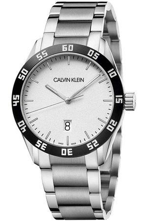 Calvin Klein Homme Montres - Montre - Gent K9R31C46 Silver/Black/White