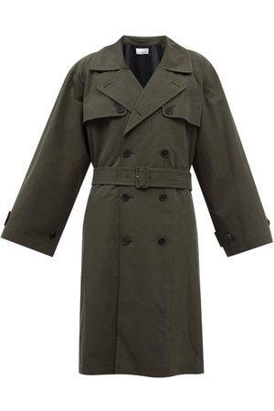 Raey Homme Trench-coats - Trench-coat oversize en coton mélangé