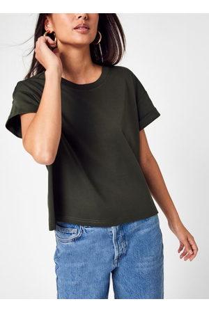 Knowledge Cotton Apparal Femme Loose Roll Up T-shirt - GOTS/Vegan par