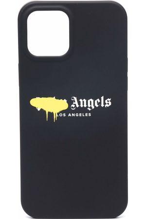 Palm Angels Coque d'iPhone 12 Pro à logo imprimé