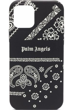 Palm Angels Coque d'iPhone 12/12 Pro à imprimé bandana