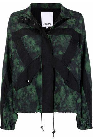 Kenzo Patterned zip-up jacket