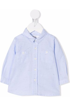 Bonpoint Button-down fitted shirt