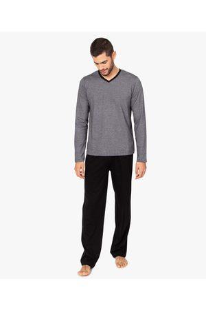 Gémo Pyjama homme bicolore à manches longues