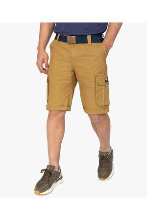 ROADSIGN Bermuda homme cargo avec ceinture