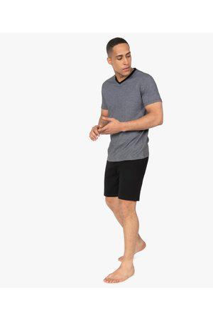 Gémo Pyjashort homme bicolore en coton