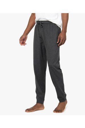Gémo Pantalon de pyjama homme en jersey à taille élastique