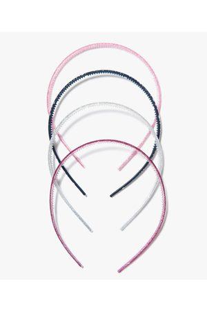Gémo Fille Accessoires cheveux - Serre-tête fille à paillettes (lot de 4)