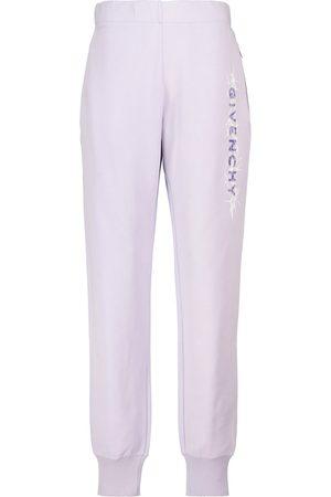 Givenchy Pantalon de survêtement en coton à logo