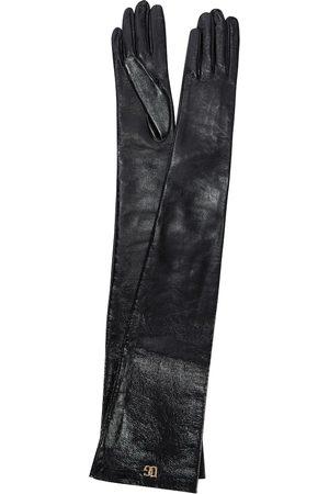 Dolce & Gabbana Gants longs en cuir synthétique