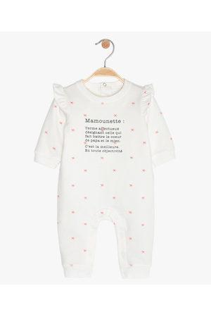 Gémo Combinaison bébé en jersey à motif étoiles