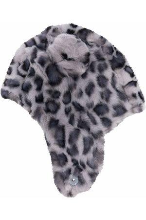 Molo Leopard print faux-fur hat