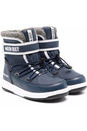 Moon Boot Bottines à attaches scratch