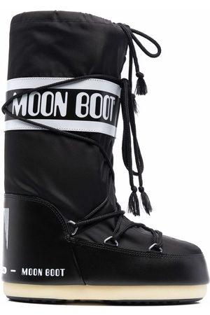 Moon Boot Bottines lacées à logo